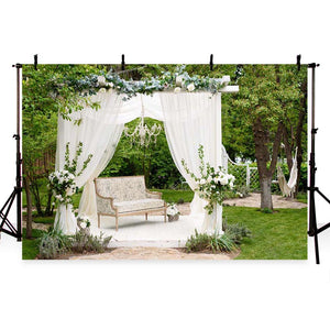 Wedding Backdrops White Background G-210