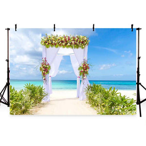 Wedding Backdrops Flowers Backdrops Grass Backgrounds G-223
