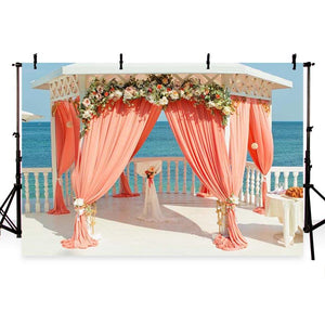 Wedding Backdrops Curtains Backdrops Pink Background G-224