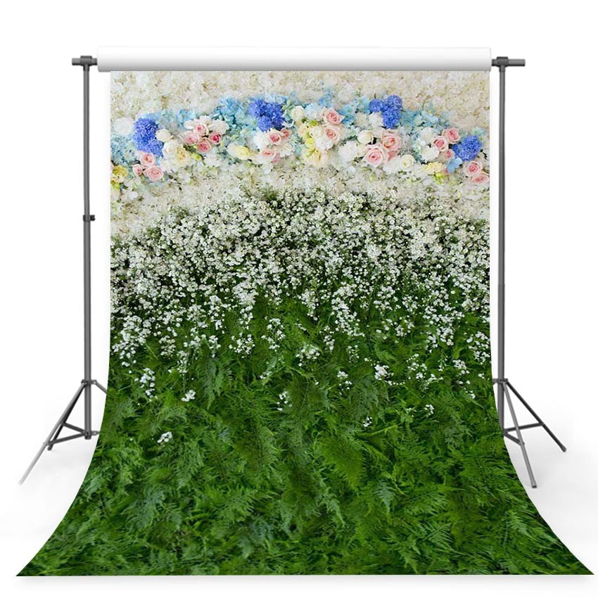 Patterned Backdrops Grass Backdrop Wall Backgrounds G-239
