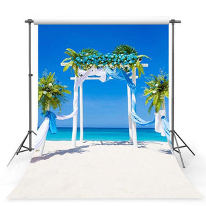 Wedding Backdrops Blue Backdrops Flowers Background G-247
