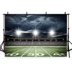 Football Background Green Backdrops G-261