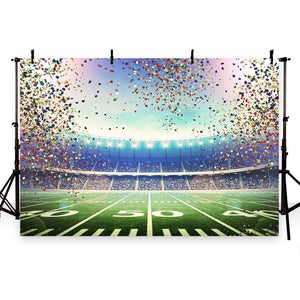 Football Background Colorful Backdrops G-263
