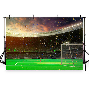 Soccer Backdrops Green Backdrops G-267