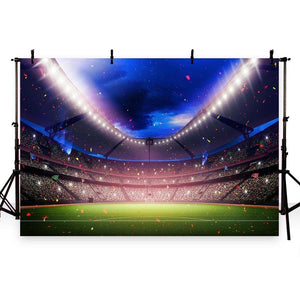 Soccer Court Backdrops Sport Backdrops Photography Background G-273