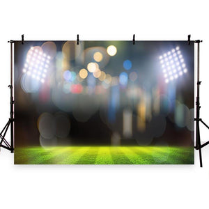 Baseball Backdrop Sports Background Green Backdrop G-274
