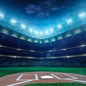 Baseball Background Sports Backdrop G-280