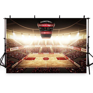 Basketball Backdrops Sport Backdrops Photography Background Stadium G-281