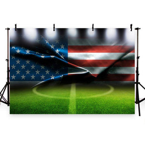 Soccer Background Green Backdrops G-283