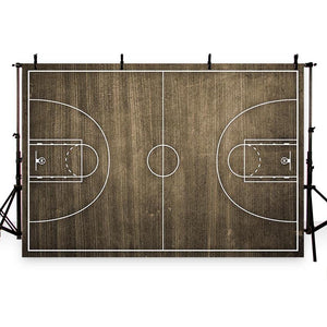 Basketball Background Brown Backdrops G-288