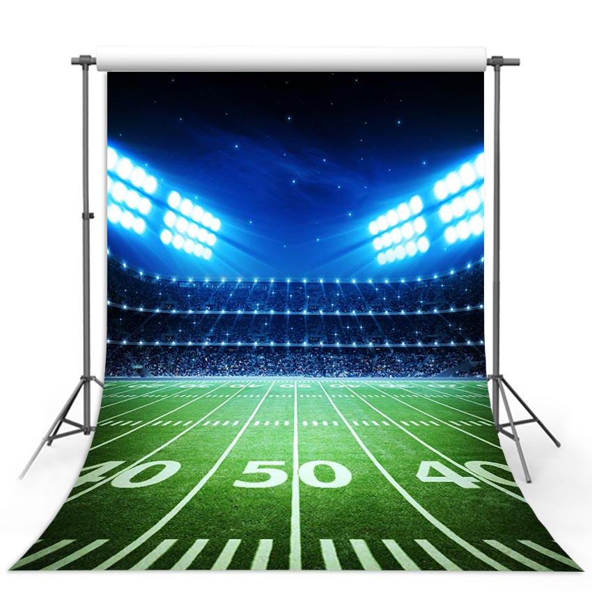 Football Background Red Backdrops G-289-1