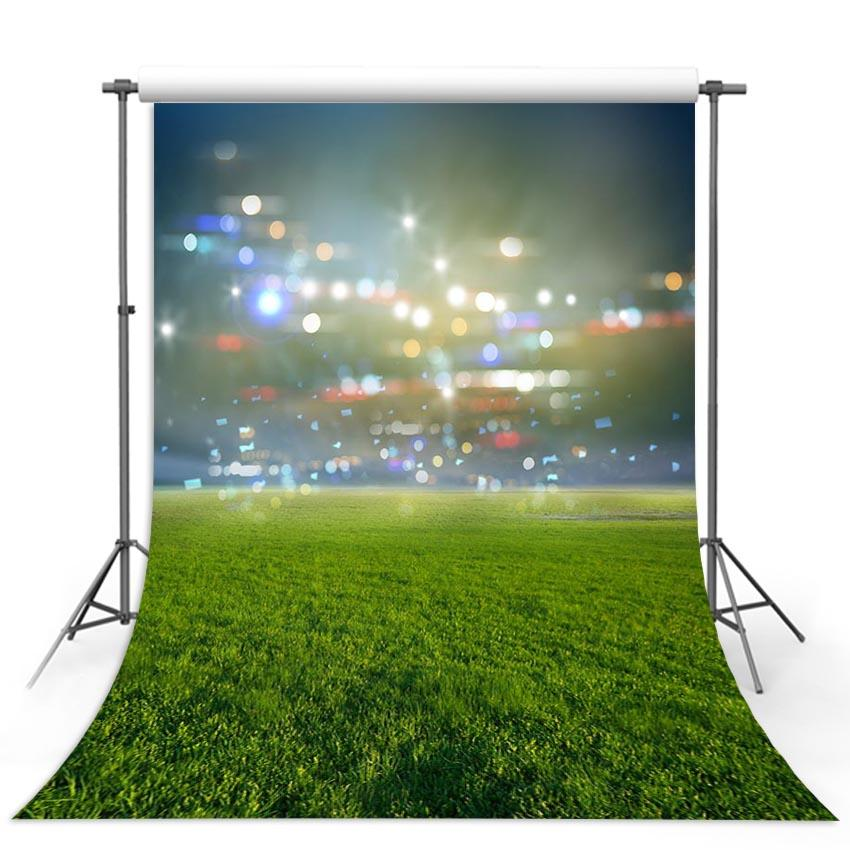 Soccer Backdrops Green Backdrop G-299