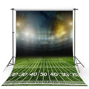 Football Background Green Backdrops G-301-1