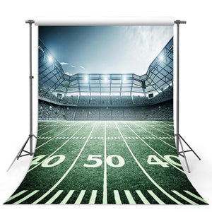 Football Background Green Backdrops G-302-1
