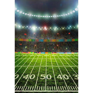 Football Background Green Backdrops G-303