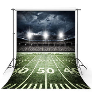 Football Background Green Backdrops G-305-1