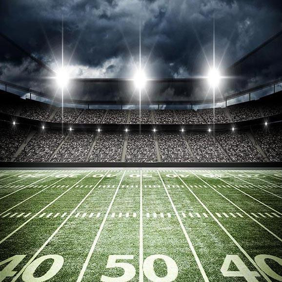 Football Background Green Backdrops G-305 - iBACKDROP