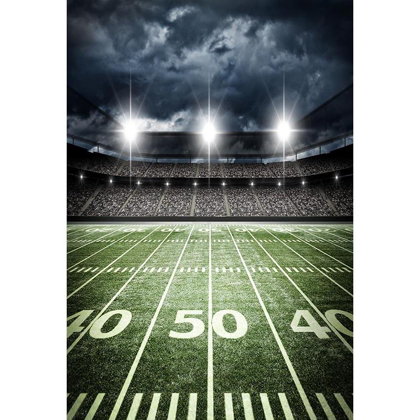 Football Background Green Backdrops G-305