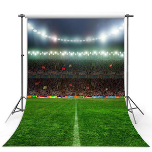 Soccer Backdrops Green Backdrops G-308