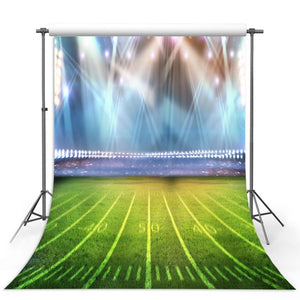Football Background Green Backdrops G-310-1