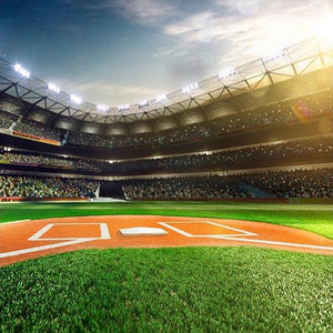 Baseball Background Green Backdrop G-311