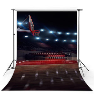 Basketball Court Backdrops Sport Backdrops Photography Background G-312-1