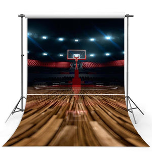 Basketball Backdrops Brown Backgrounds G-313-1