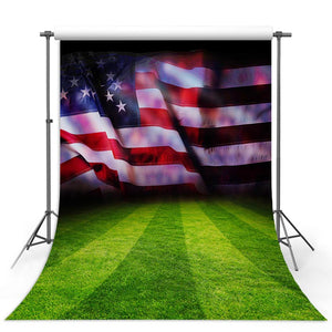 Bunting Backdrops American Flag Background Grunge Backdrops G-314-1