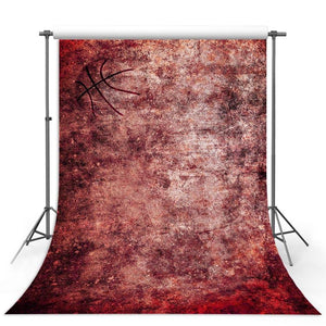 Basketball Backdrops Red Backgrounds G-321
