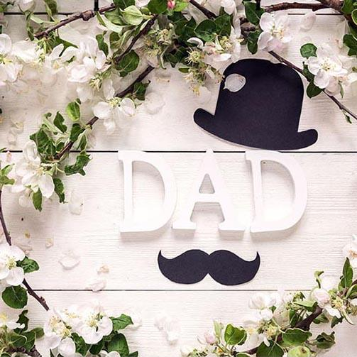 Father's Day Backgrounds Flowers Backdrop G-340 - iBACKDROP