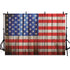 Blurred Background American Flag Backdrop Wood Backdrop G-342