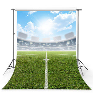 Soccer Backdrops Green Backdrops G-353