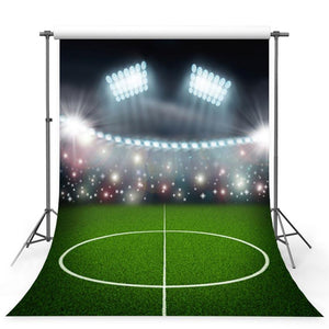 Soccer Backdrops Green Backdrops G-354