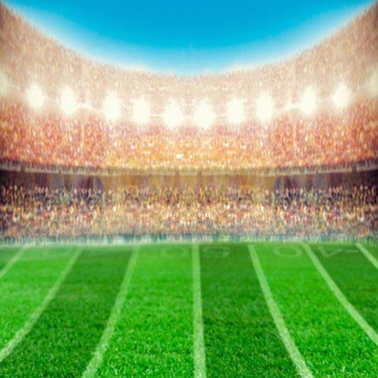 Football Background Green Backdrops G-355 - iBACKDROP
