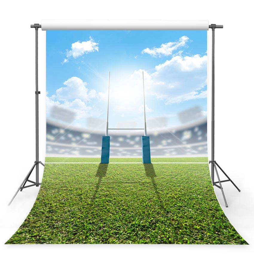 Baseball Background  Green Backdrop G-362 - iBACKDROP-Colored Eggs Backdrops, Easter Backdrop, Easter Backdrops, Easter Photography Backdrops, Patterned Backdrops