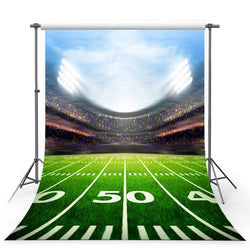 Football Background Green Backdrops G-363