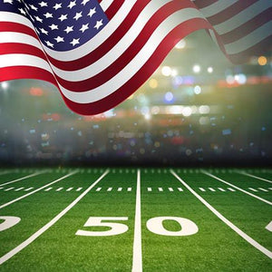 Football Background Green Backdrops G-365