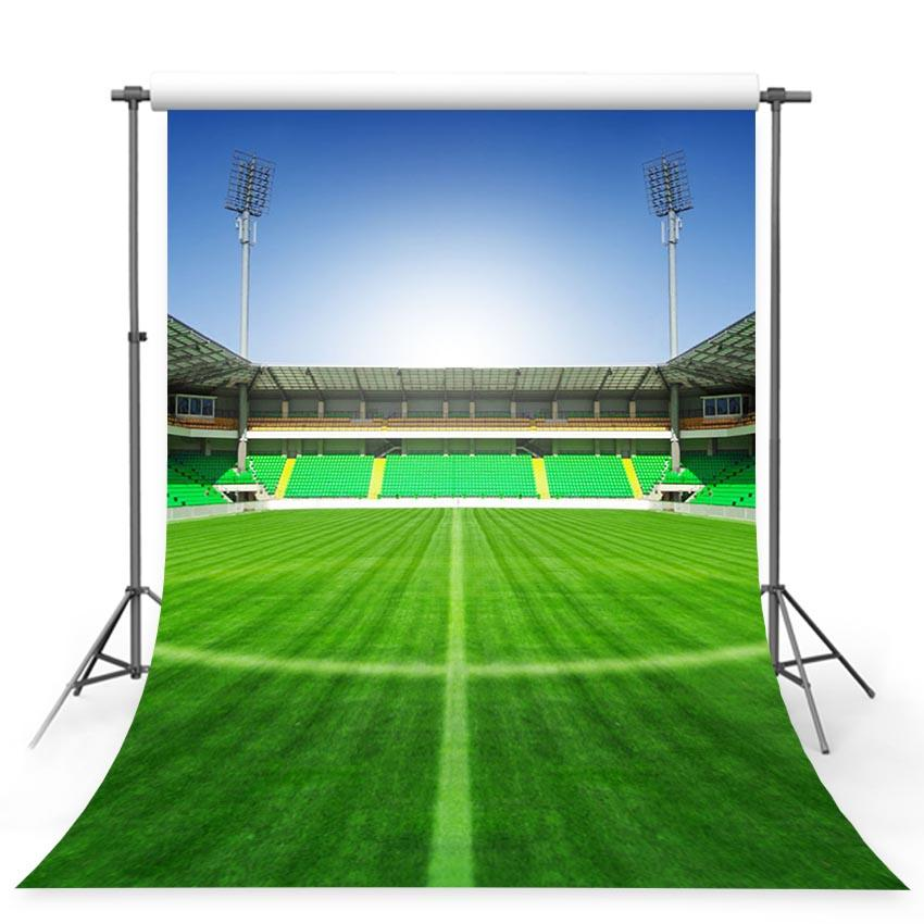 Soccer Backdrops Green Backgrounds  G-368