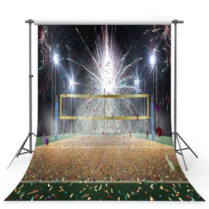Football Background Brown Backdrops G-369