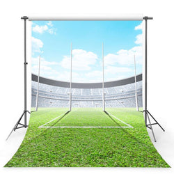 Football Background Green Backdrops G-371