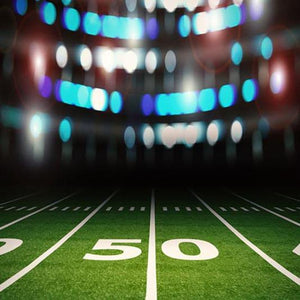 Football Background Green Backdrops G-372