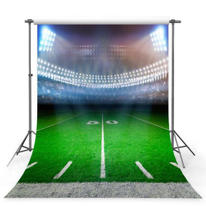 Football Background Green Backdrops G-373