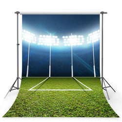 Football Background Green Backdrops G-380