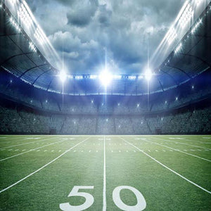 Football Backdrops Green Background G-382