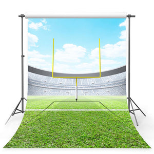 Football Backdrops Green Background G-384