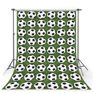 Soccer Backdrops Green Backgrounds G-385