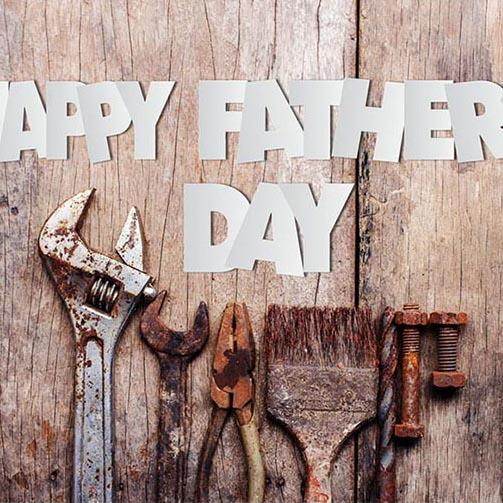Father's Day Background Wood Backdrops G-388 - iBACKDROP