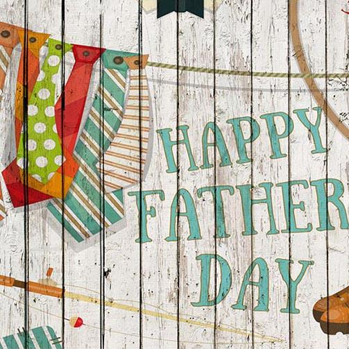Father's Day Backdrops Wood Backdrop G-389
