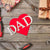 Father's Day Backdrop Wood Background G-392