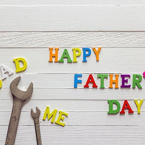 Father's Day Backdrops White Background G-393